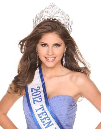 A alagoana Gabriele Marinho, 17 anos, vencedora do Miss Teen World (Foto: Divulgação/Miss Teen World)