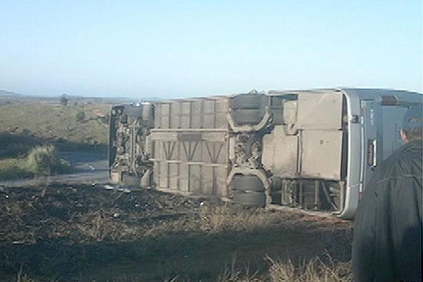 acidente itamaraju 2 (Foto: Reprodução TV Bahia)