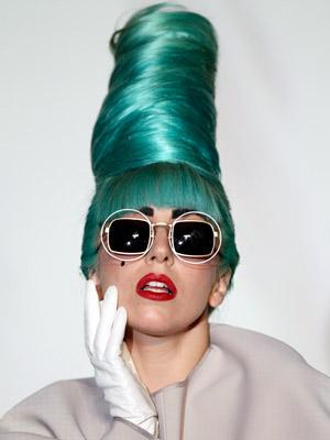 A cantora Lady Gaga, que também participa da campanha (Foto: AP)