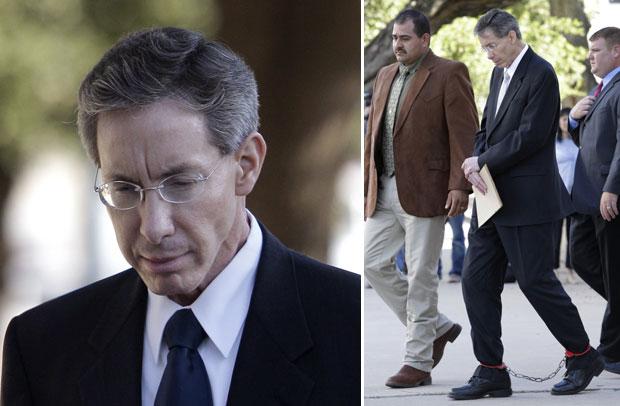 O líder religioso, em fotos na chegada a outras audiências do processo (Foto: AP)