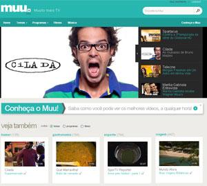Muu é site de vídeos para dispositivos móveis da Net (Foto: Reprodução)
