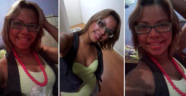 Fotografias encontradas no celular de Monique Valéria de Miranda Costa e que foram tiradas momentos antes de sua morte, segundo a Polícia Civil (Foto: Divulgação/Polícia Civil)
