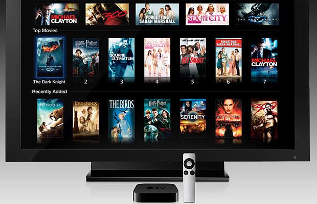 Apple TV permite assistir vídeos por streaming sem armazenar o conteúdo (Foto: Divulgação)