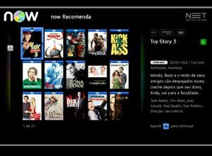 Serviço NOW, lançado pela Net, permite selecionar filmes e episódios (Foto: Divulgação)