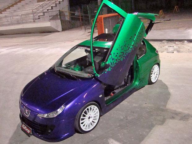 carro modificado peugeot (Foto: Arquivo Pessoal)
