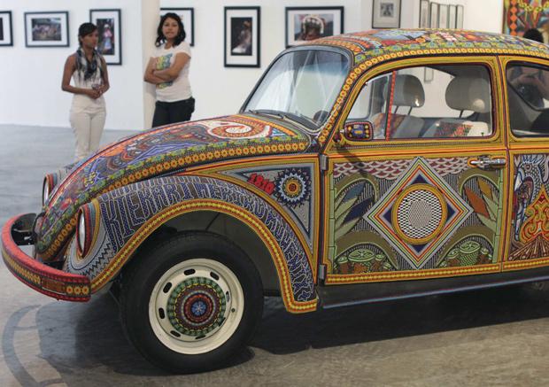 'Vochol' está exposto no Museu de Puebla, no México (Foto: Imelda Mediana/Reuters)