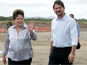 'Policlínicas são referência para o país', diz Dilma Roussef no Ceará  (Foto: Alex Costa/Agência Diário)