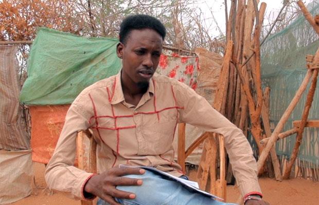 Abdi Abdullahi foi rejeitado no processo seletivo  (Foto: Giovana Sanchez/G1)
