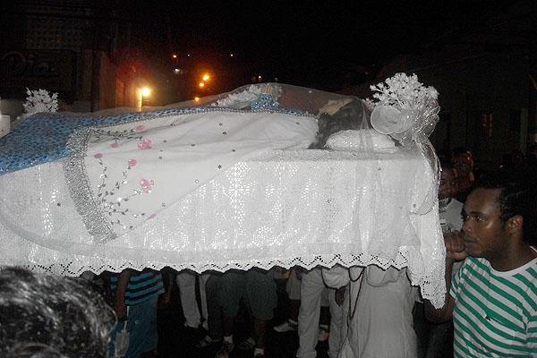 Nossa Senhora da Boa Morte  (Foto: Lílian Marques/ G1)