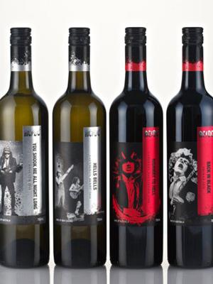 Os vinhos do AC/DC (Foto: Divulgação)