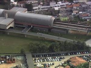 CPTM registra problemas na manhã desta segunda (Foto: Reprodução/TV Globo)
