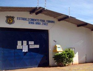 Presídio feminino de Campo Grande, para onde atriz pornô foi transferida (Foto: Divulgação/Agepen)