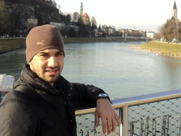 Vinicius Genova vai usar a experiência no exterior em seu trabalho como consultor de turismo (Foto: Arquivo pessoal)