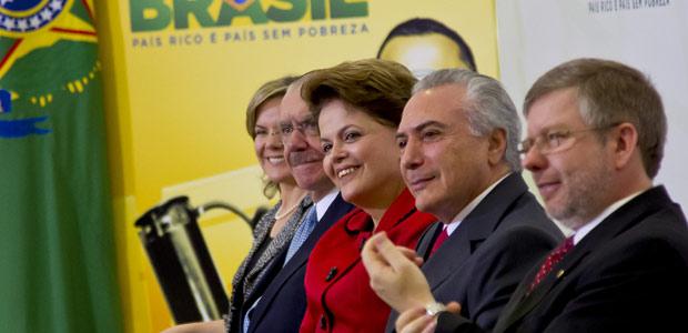 Presidente Dilma Rousseff  durante cerimônia de anúncio da expansão da Rede Federal de Educação Superior (Foto: Roberto Stuckert Filho / Presidência)