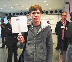 Christopher Poole, o 'moot' do 4chan (Foto: Divulgação)