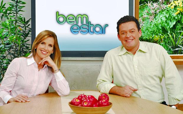 Após seis meses à frente do programa 'Bem Estar', os apresentadores Mariana Ferrão e Fernando Rocha perceberam vários novos hábitos na rotina (Foto: Zé Paulo Cardeal/Divulgação TV Globo)