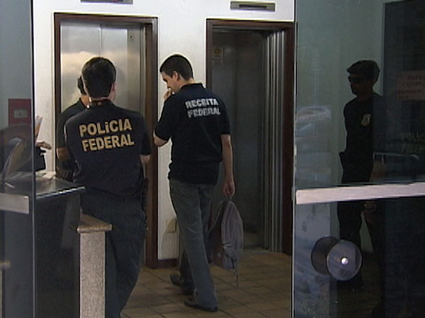 Receita diz que 23 dos 31 mandados em operação serão cumpridos na BA (Foto: Reprodução/TV Bahia)