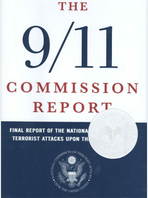 Capa do relatório final da comissão de investigação do 11/9 (Foto: Reprodução)