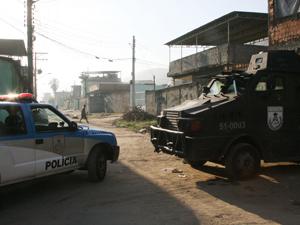 Operação em favelas do Rio (Foto: Jadson Marques/AE)