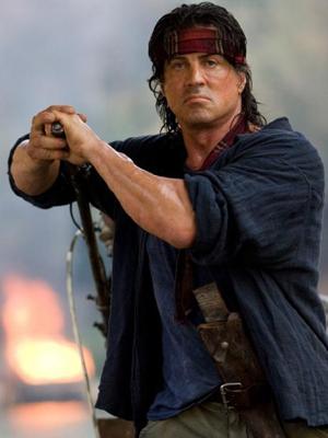 Sylvester Stallone em cena de 'Rambo', longa de 2008 (Foto: Divulgação)