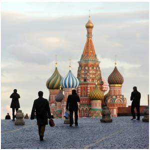 A praça Vermelha, em Moscou (Foto: BBC)