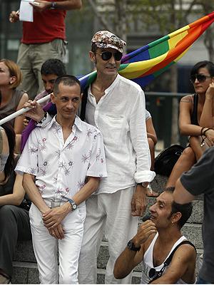 protesto gay (Foto: Andrea Comas/Reuters)