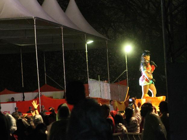 Show da cantora Ivete Sangalo no Anhembi, na Zona Norte de São Paulo (Foto: Evelson Freitas )