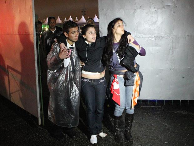 Bruna Alexandra Petrini, de 24 anos, uma das vítimas do desabamento de parte da estrutura de um dos camarotes  (Foto: Evlson Freitas/ Agência Estado)