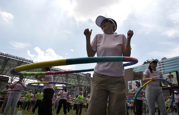 Recorde foi estabelecido em Taipei, em Taiwan. (Foto: Pichi Chuang/Reuters)