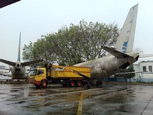Avião Vasp  (Foto: Carolina Iskandarian/ G1)