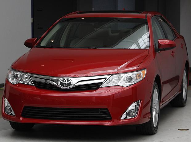 Toyota Camry 2012 é renovado (Foto: AP)