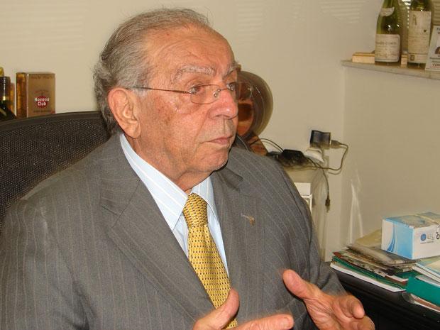 O deputado estadual Antonio Salim Curiati (PP), que foi assaltado na manhã desta terça-feira (23) (Foto: Raphael Prado/G1)