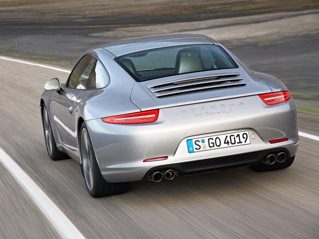 Porsche Carrera S vem com motor 3.8 de 400 cv (Foto: Divulgação)