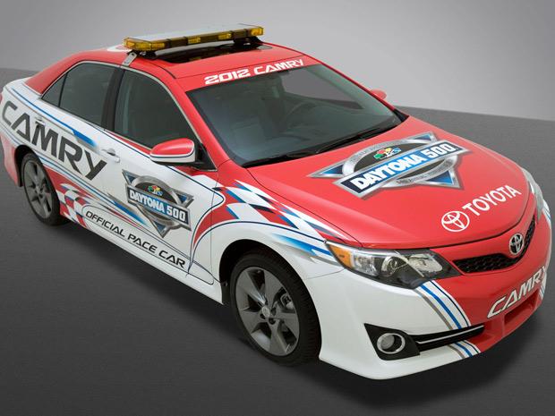 Toyota Camry 2012 será o pace car da Daytona 500 (Foto: Divulgação)