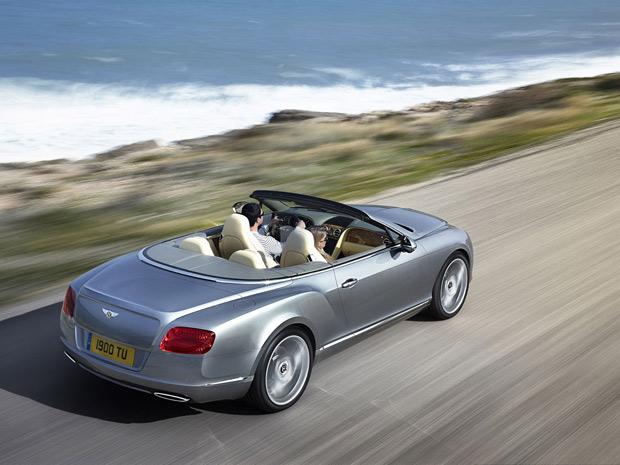 Bentley Continental GTC entra na segunda geração (Foto: Divulgação)