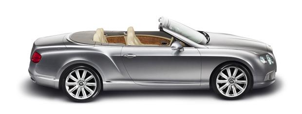 Bentley Continental GTC conversível custa a partir de 149.350 libras, quase R$ 400 mil (Foto: Divulgação)