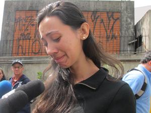 Ex-namorada chora ao lembrar de Murilo (Foto: Paulo Toledo Piza/G1)