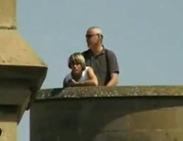 Prefeita belga é flagrada fazendo sexo no alto de torre. (Foto: Reprodução)