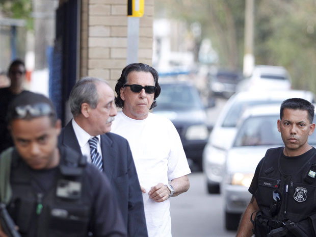 Ex-banqueiro Salvatore Cacciola deixa prisão no Rio (Foto: Fabio Rossi / Agência O Globo )