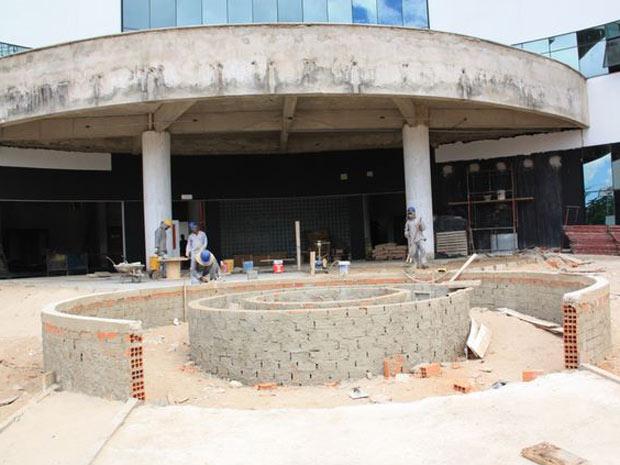 Fachada da nova sede do Ministério Público Federal do Piauí, que está em fase de obras (Foto: Divulgação/MPF-Piauí)