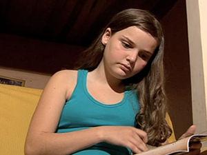 Adolescente aguarda por doação de medula (Foto: Reprodução /TVCA)