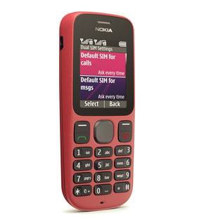 Nokia 101, celular popular da fabricante finlandesa (Foto: Reprodução)