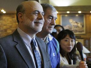 Ben Bernanke, presidente do Fed (Foto: AP)