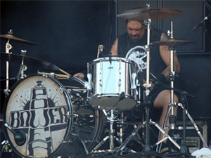 Jimmy Bower, baterista do Down (Foto: Wikimedia/Shadowgate)