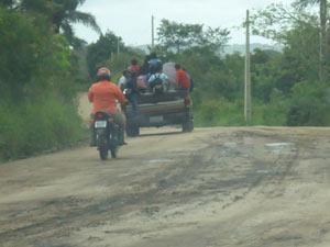 Pau de arara é flagrado na Região Metropolitana de Campina Grande (Foto: Divulgação/MPPB)