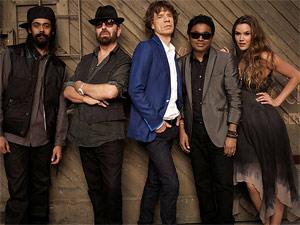 Mick Jagger e os integrantes da SuperHeavy (Foto: Divulgação)