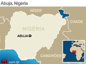 mapa nigéria (Foto: Arte G1)