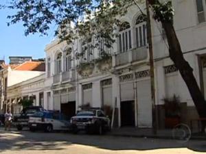A boate The Week, na Zona Portuária do Rio (Foto: Reprodução/TV Globo)