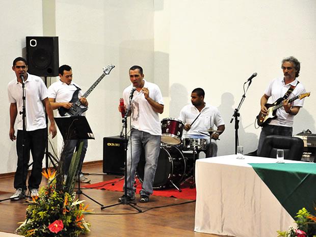 Banda de Reeducandos (Foto: Dhiego Maia/G1)