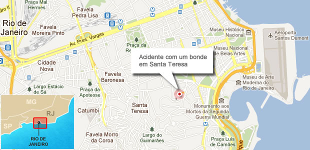 MApa bonde (Foto: G1)